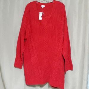 Avenue beautiful red sweater